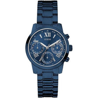 Guess Mini Sunrise Multi-Function Blue Dial Ladies Watch W0448L5