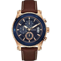 Guess Pinnacle Chronograph Blue Dial Men's Watch U0673G3