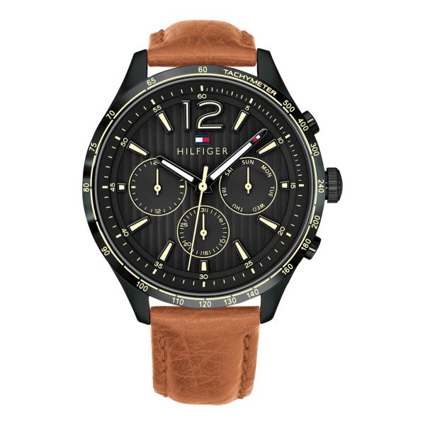 Tommy Hilfiger Gavin Chronograph Black Dial Men's Watch 1791470
