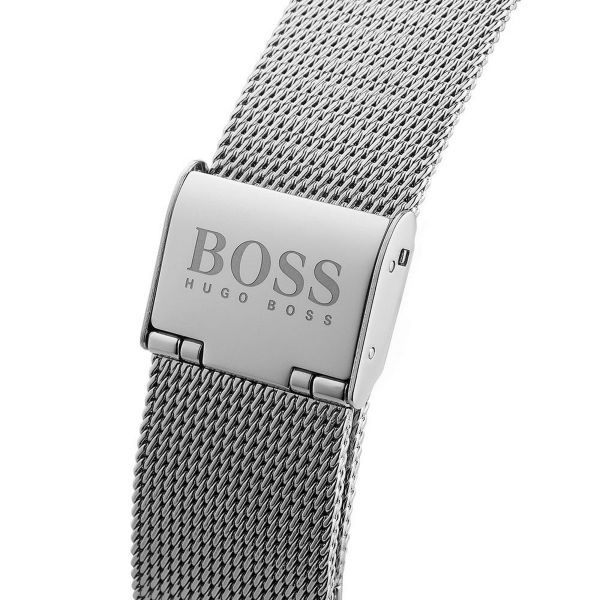 Hugo Boss Jackson Silver Dial Men's Watch 1513459 Water resistance: 30 meters Movement: Quartz