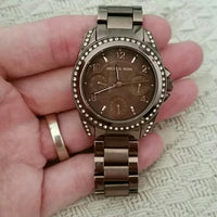 Michael Kors Blair Chronograph Expresso Dial Ladies Watch MK5614