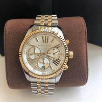Michael Kors Lexington Chronograph Mother of Pearl Dial Ladies Watch MK5955 Water resistance: 100 meters / 330 feet Movement: Quartz