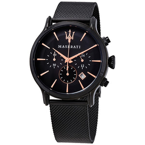 Maserati Epoca Chronograph Black Dial Men's Watch R8873618006