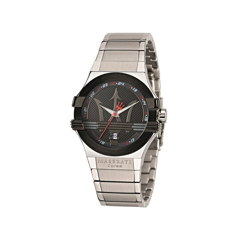 Maserati Potenza Black Dial Stainless Steel Men's Watch R8853108001
