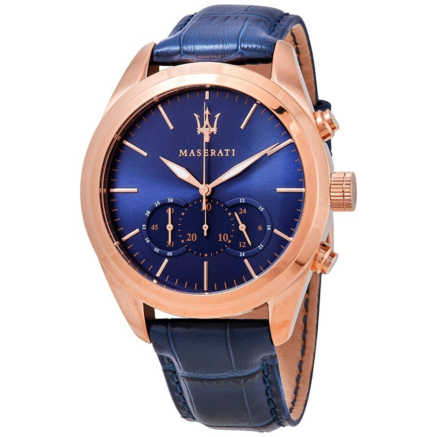 Maserati Traguardo Chronograph Blue Dial Men's Watch R8871612015