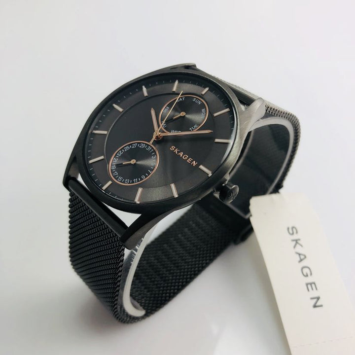 Skagen Holst Multi-Function Grey Dial Unisex Watch SKW6180
