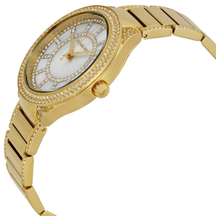 Michael Kors Kerry Gold-tone Stainless Steel Ladies Watch MK3312 Water resistance: 50 meters / 165 feet Movement: Quartz
