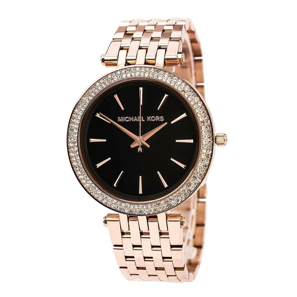 Michael Kors Darci Rose Gold-tone Stainless Steel Ladies Watch MK3402