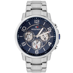Tommy Hilfiger Blue Dial Stainless Steel Men's Watch 1791293