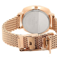 Skagen Rungsted White Dial Rose Gold Tone Ladies Watch SKW2401