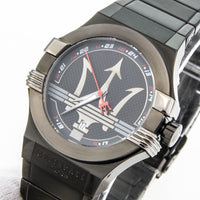 Maserati Potenza Black Dial Stainless Steel Men's Watch R8853108003