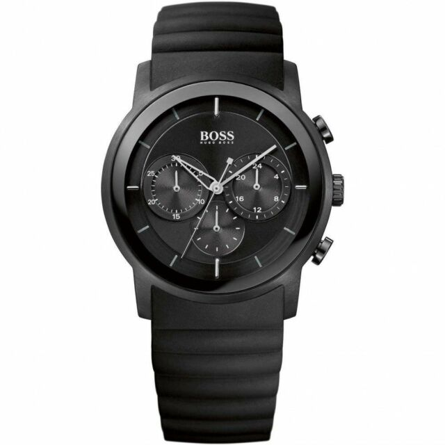 Hugo Boss Modern Chronograph Black Dial Men's Watch 1512639 Water resistance: 50 meters Movement: Quartz