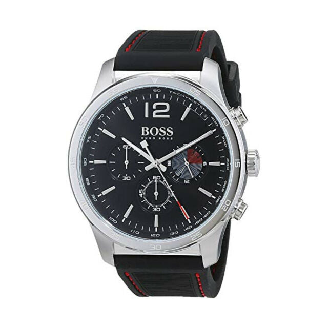 Hugo Boss Professional Chronograph Black Dial Men's Watch 1513525 Water resistance: 30 meters Movement: Quartz