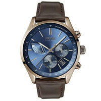 Hugo Boss Grand Prix Chronograph Blue Dial Men's Watch 1513604