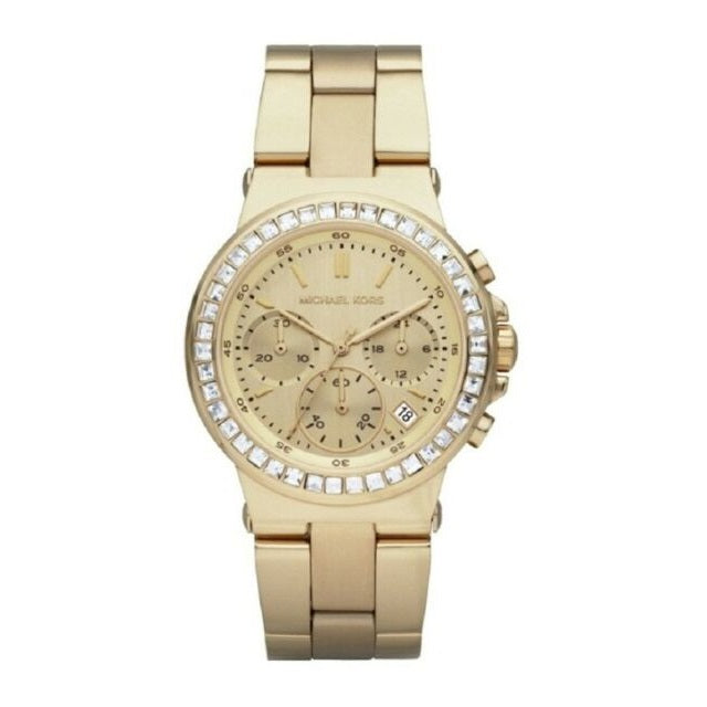 Michael Kors Dylan Chronograph Gold Ladies Watch MK5623