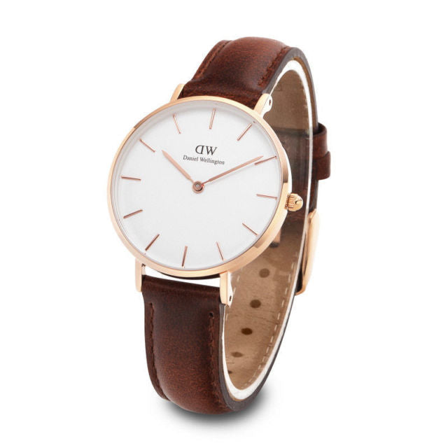 Daniel Wellington St Mawes 28mm Women's Gold Watch DW00100175