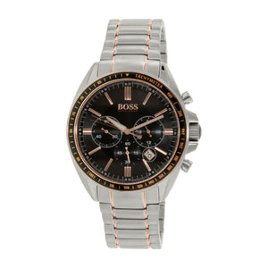 Hugo Boss Chronograph Black Dial Stainless Steel Men's Watch 1513094 Water resistance: 50 meters Movement: Quartz