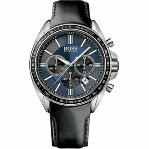 Hugo Boss Chronograph Blue Dial Men's Watch 1513077 Water resistance: 50 meters Movement: Quartz
