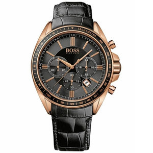 Hugo Boss Chronograph Dial Rose Gold Men's Watch 1513092 Water resistance: 50 meters Movement: Quartz