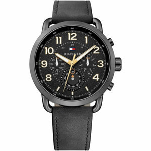 Tommy Hilfiger Chronograph Black Dial Men's Watch 1791426