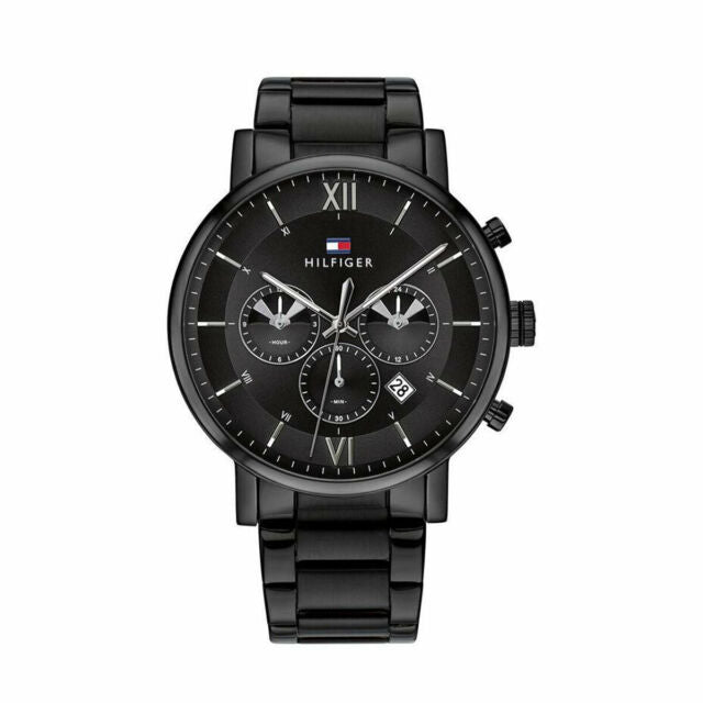Tommy Hilfiger Chronograph Black Dial Men's Watch 1791529