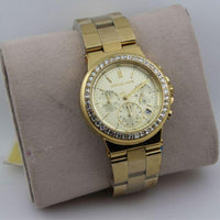 Michael Kors Dylan Chronograph Gold-tone Dial Ladies Watch MK5623