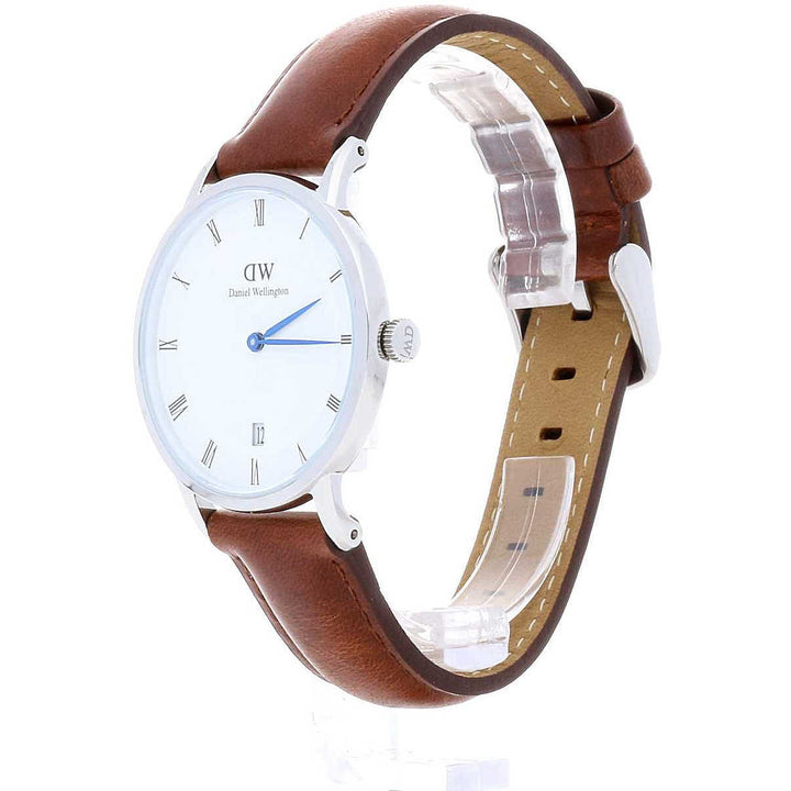 Daniel Wellington Dapper St Mawes 38mm Men's Silver Watch DW00100087
