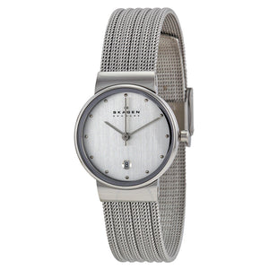 Skagen Stainless Steel Mesh Bracelet Ladies Watch 355SSS1