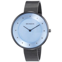 Skagen Gitte Blue Dial Stainless Steel Men's Watch SKW2292