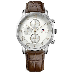 Tommy Hilfiger Chronograph Silver Dial Men's Watch 1791400