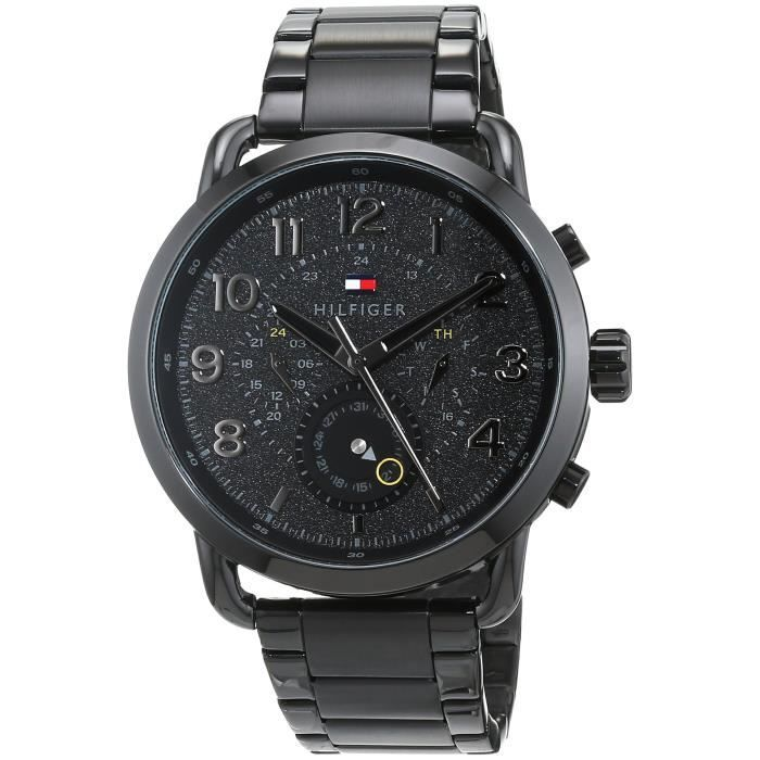 Tommy Hilfiger Chronograph Black Dial Men's Watch 1791423