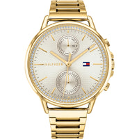 Tommy Hilfiger Champagne Dial Gold Plated Watch 1781905