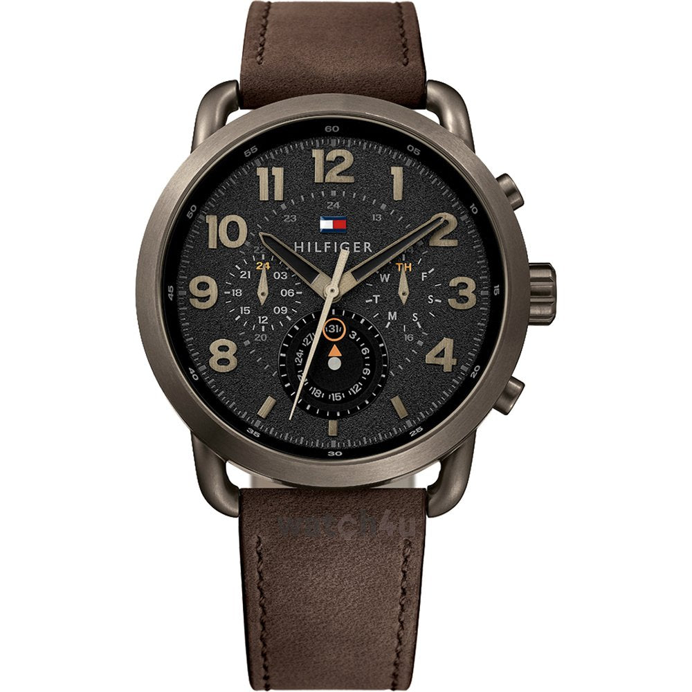 Tommy Hilfiger Chronograph Black Dial Men's Watch 1791425