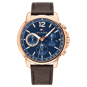 Tommy Hilfiger Chronograph Blue Dial Men's Watch 1791532