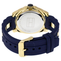 Tommy Hilfiger White Dial Blue Silicone Strap Ladies Watch 1781307