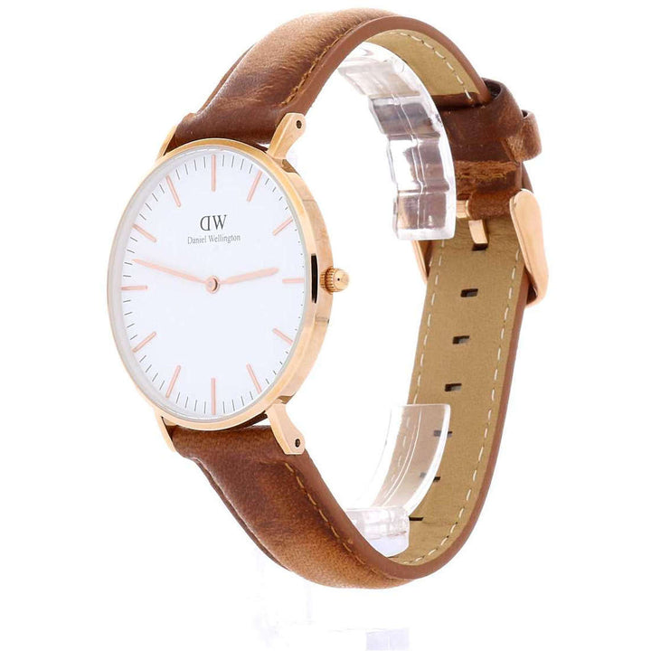 Daniel Wellington Classic Durham 36mm Women's Gold Watch DW00100111