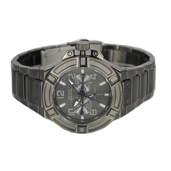 Guess Rigor Multi-Function Grey Dial Men's Watch W0218G1