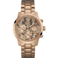 Guess Sunrise Rose Gold-Tone Stainless Steel Ladies Watch W0330L16