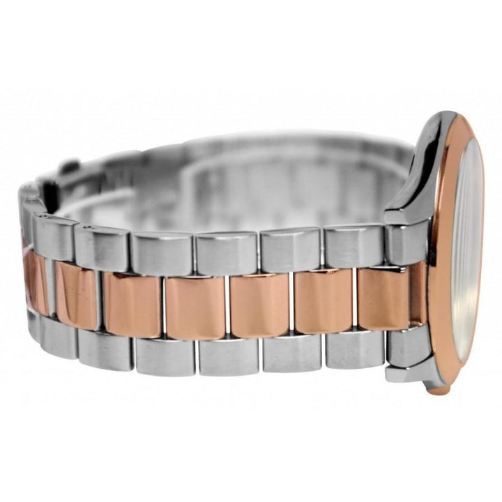 Michael Kors Slim Runway Two-tone Stainless Steel Unisex Watch MK3204