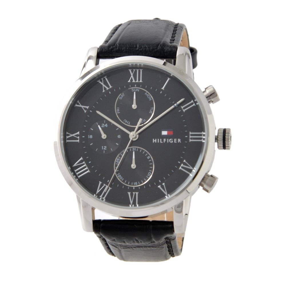 Tommy Hilfiger Chronograph Black Dial Men's Watch 1791401