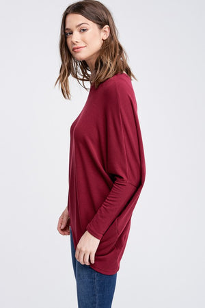 Shop Ever Cranberry Long Sleeve