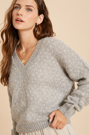Mini Hearts Sweater