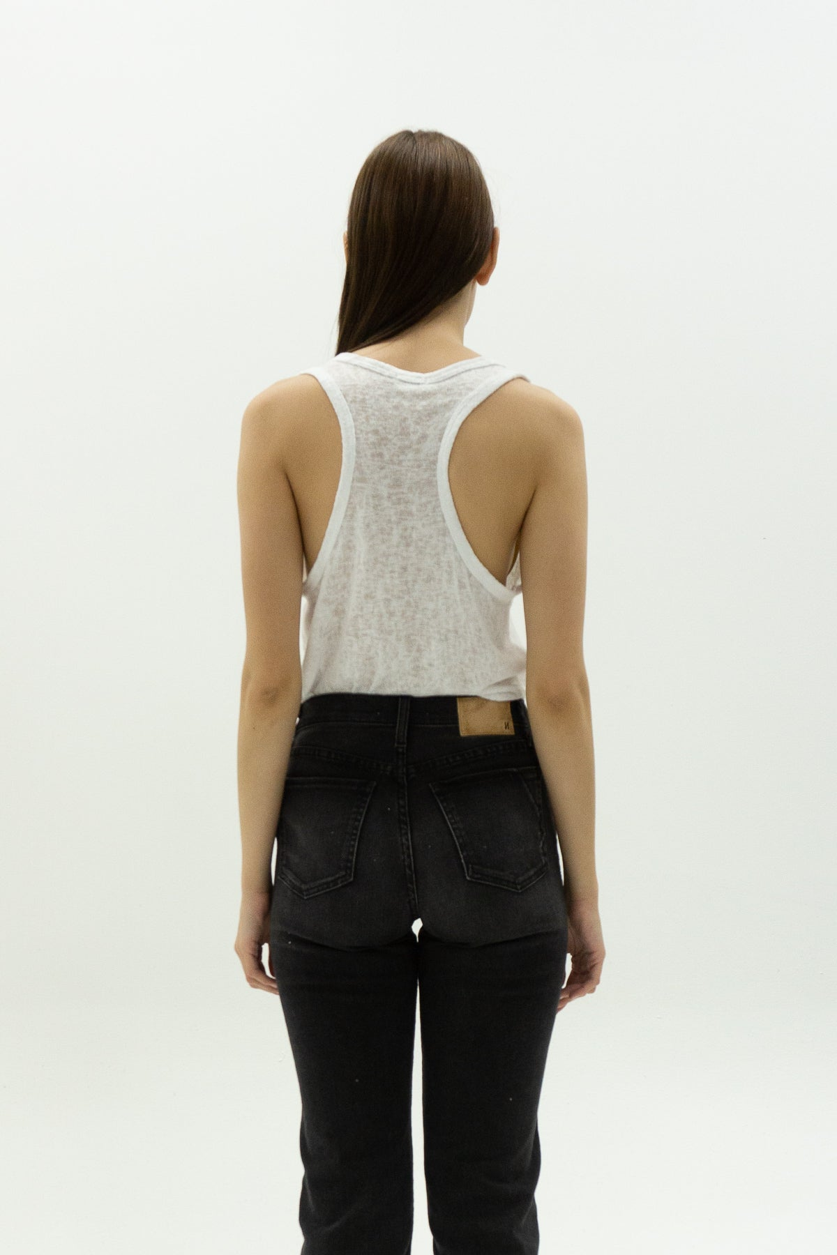 Melrose Tank in White
