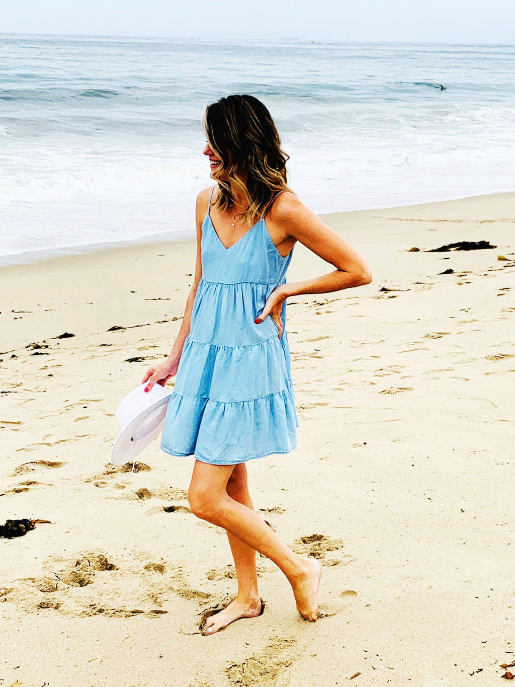 SHOP EVER CHAMBRAY DRESS