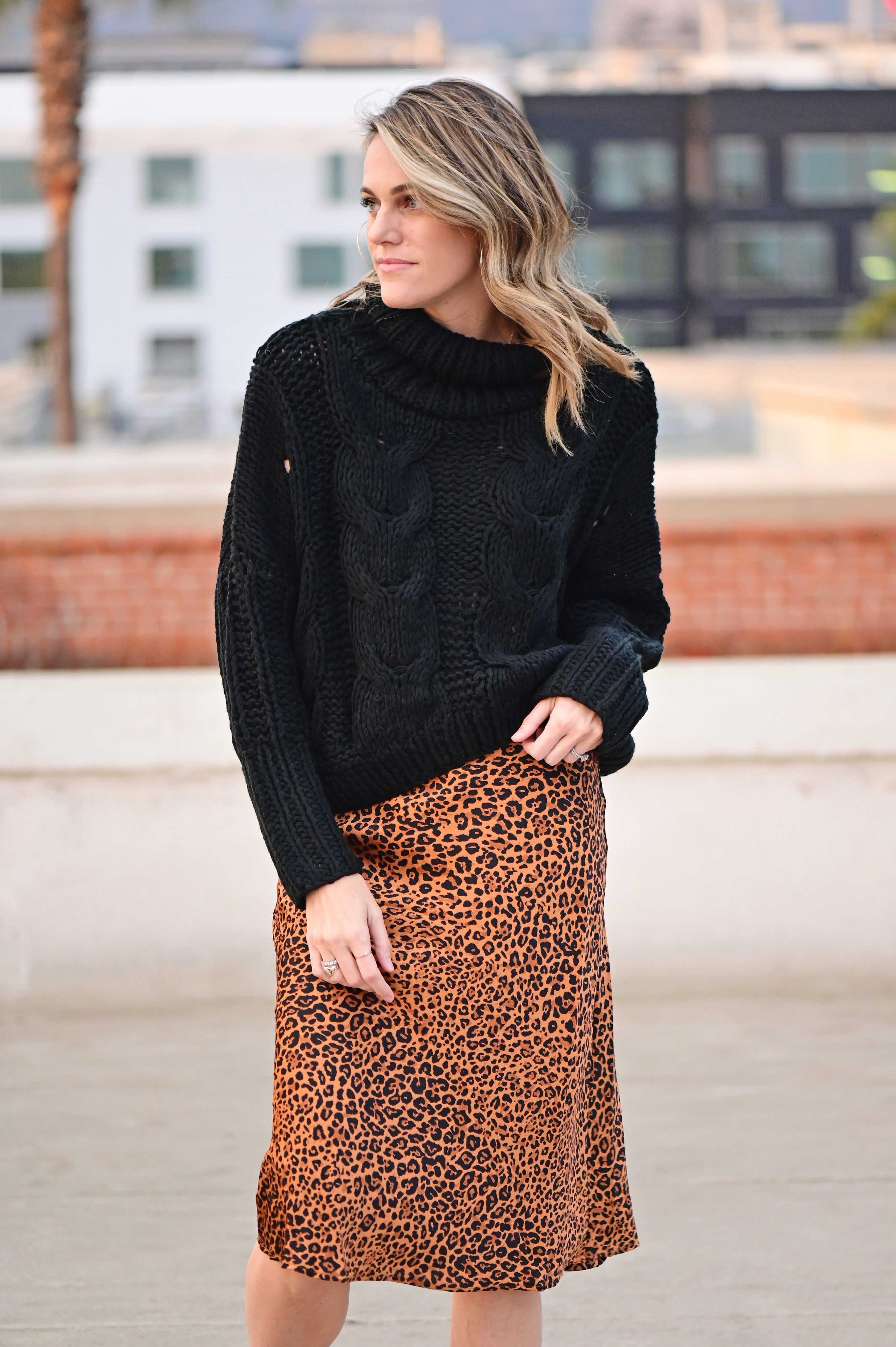 Shop Ever Fearless Midi Skirt