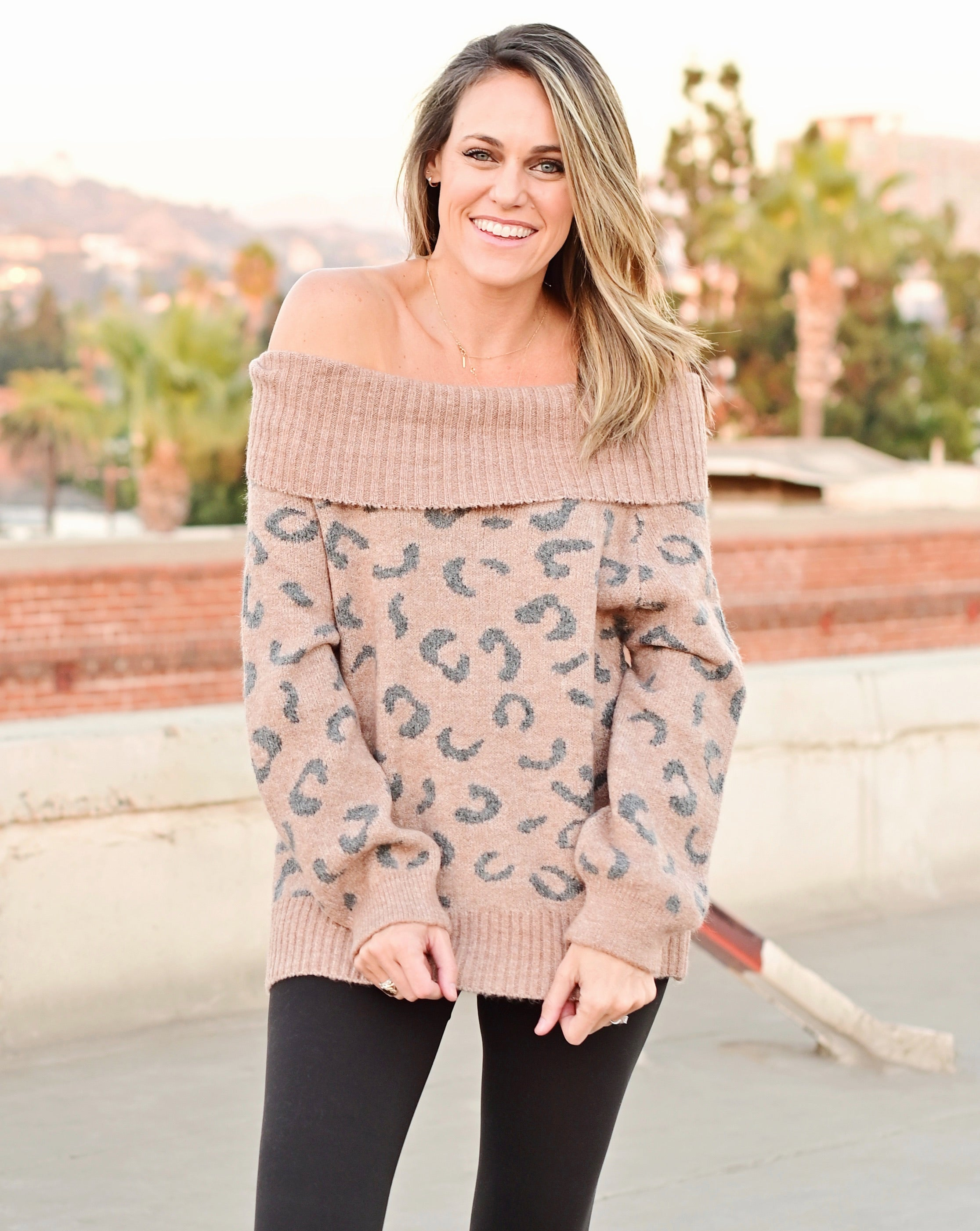 Nova Leopard Sweater