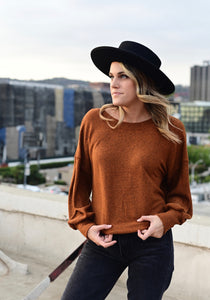 SHOP EVER CHESTNUT LONG SLEEVE