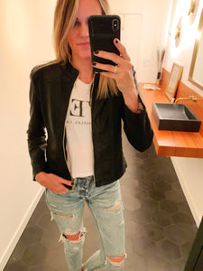 SHOP EVER VEGAN LEATHER JACKET