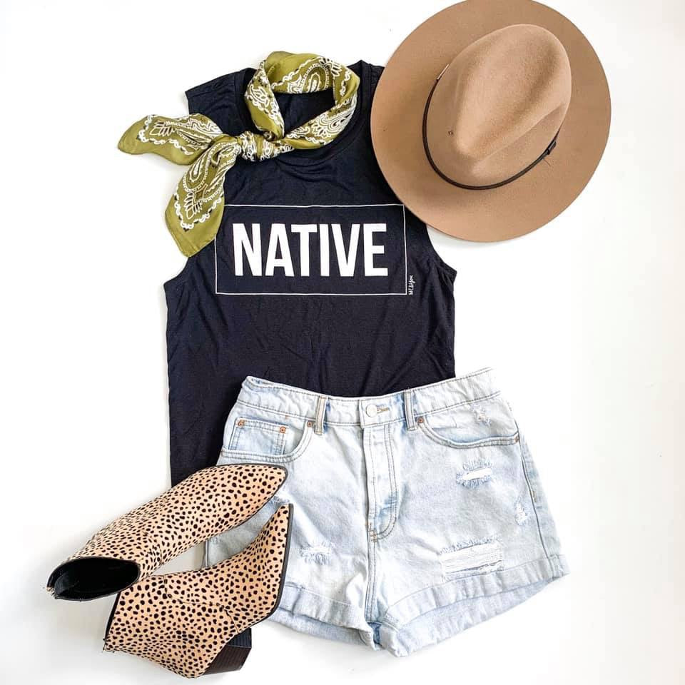 SHOP EVER NATIVE TANK