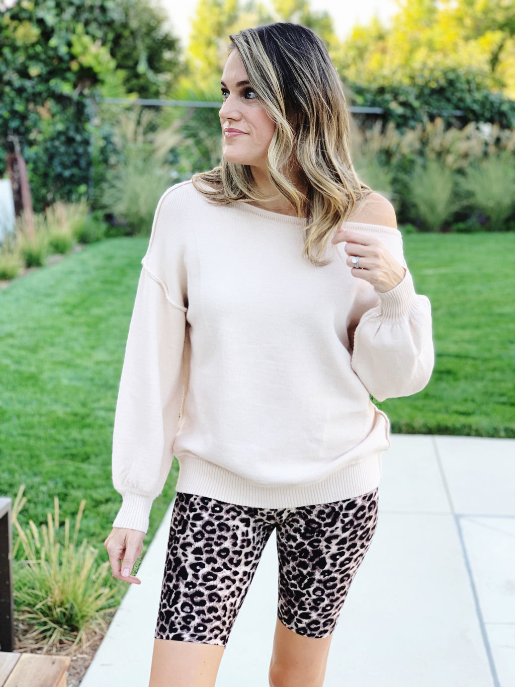 Vanilla Latte Sweater